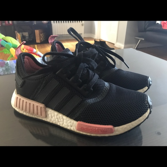 the best attitude defc0 d688f adidas Shoes - Adidas NMD R1 Black Peach Pink S75234
